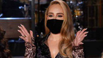 ¡Irreconocible! Adele apareció siendo otra persona