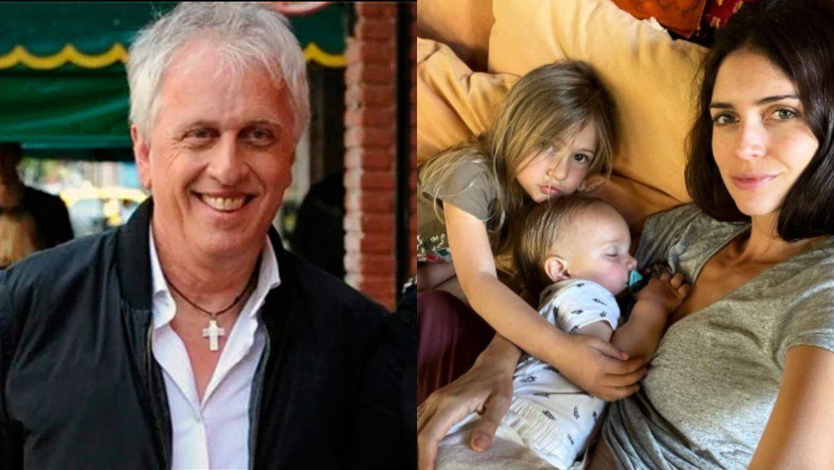 Andrés Nara conoció a su nieto Viggo a un año de su nacimiento