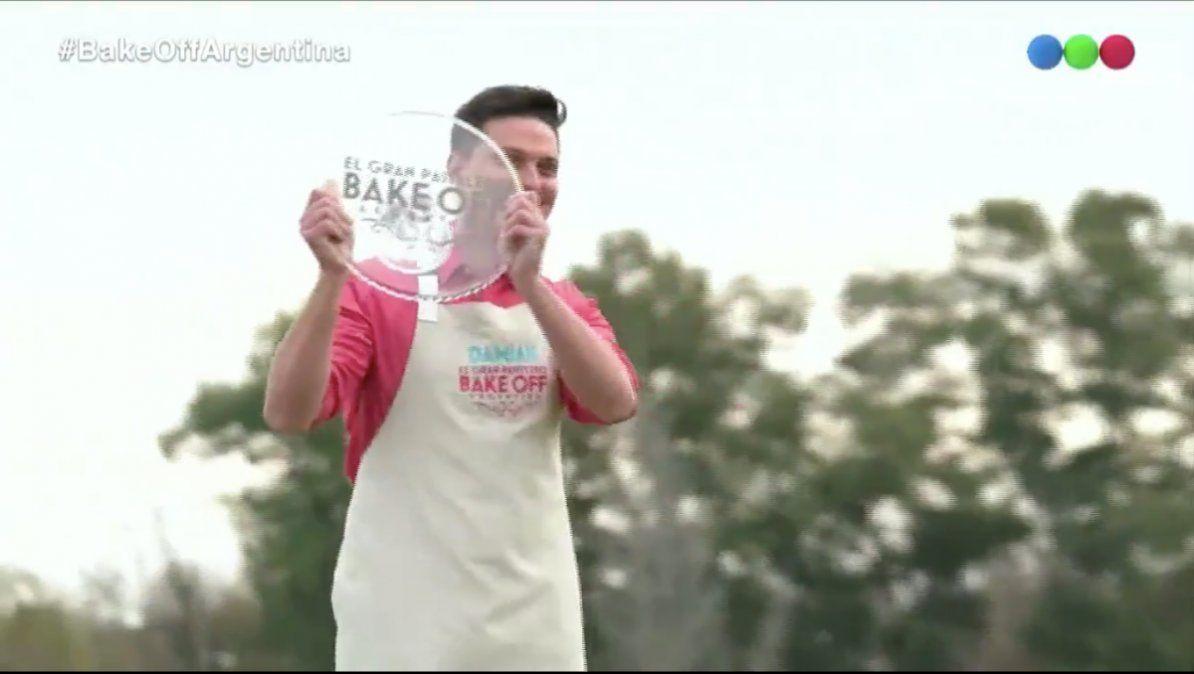 Bake Off: Damián es el gran ganador de la final