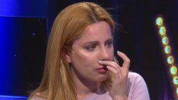 Agustina Kämpfer lloró al revelar cómo le contó a su hijo que se separaba de Carlos Gianella