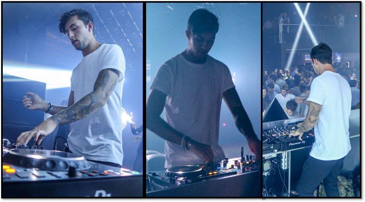 DJ Most, el nuevo novio de Charlotte Caniggia, tocó en Punta: fotos y videos del evento