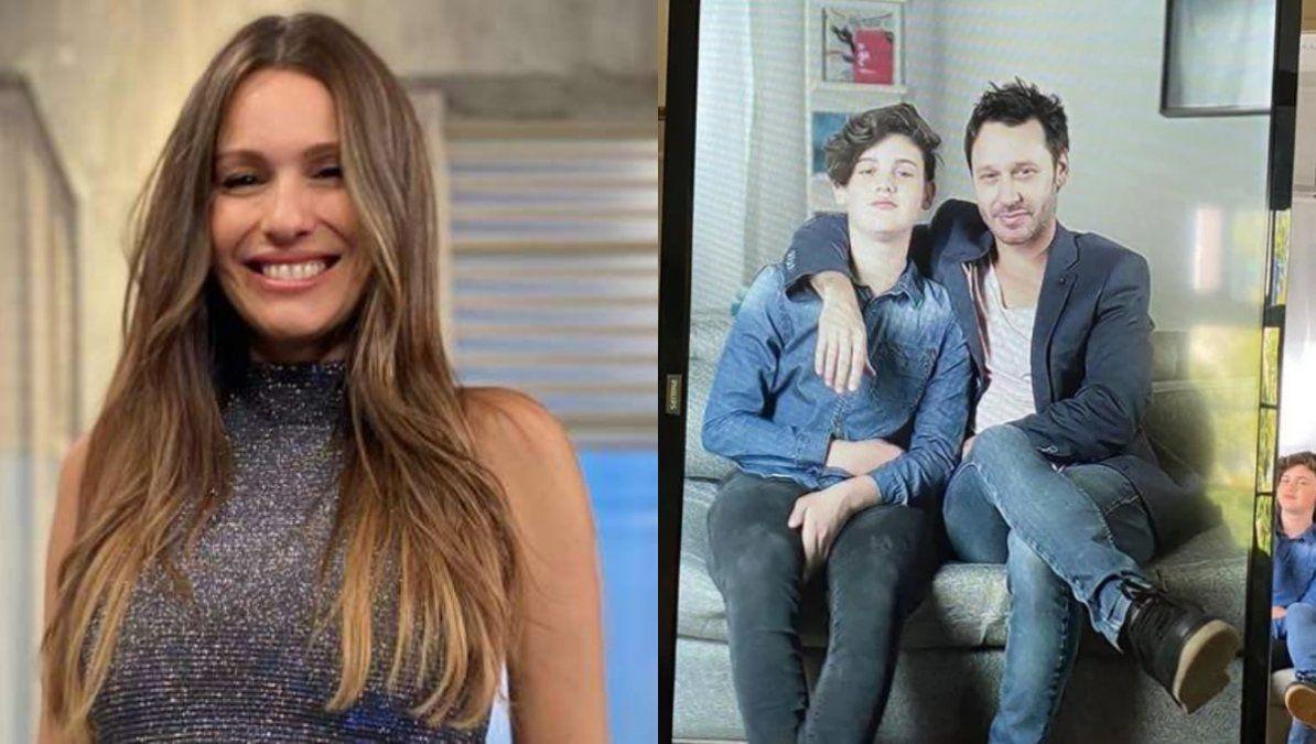 Pampita reaccionó al debut actoral de su hijo Bautista