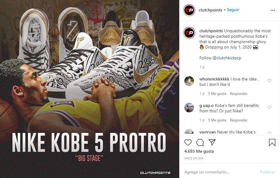 La productora ClutchPoints anunció la nueva serie en homenaje al fallecido astro de la NBA