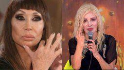 Moria Casán durísima con Nacha Guevara: Es totalmente contraria a lo que pregona