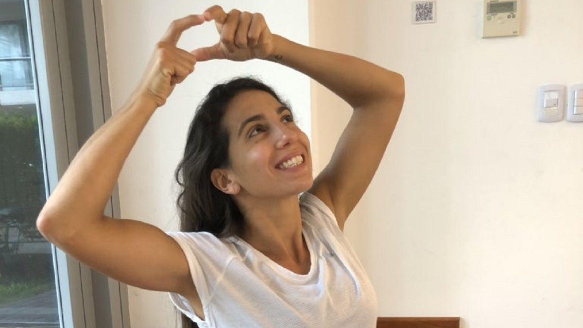 La reacción de Cinthia Fernández cuando se enteró el tema que cantará Baclini en el Cantando