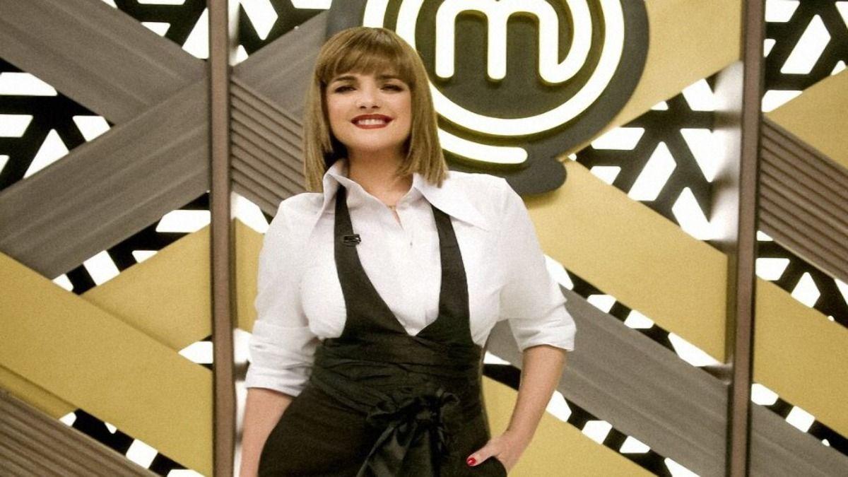 La modelo y empresaria Araceli González fue la invitada de lujo de Masterchef Celebrity Argentina