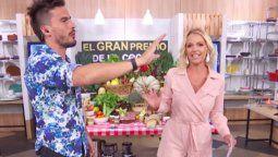 Una participante del Gran premio de la cocina empujó a Juan Marconi