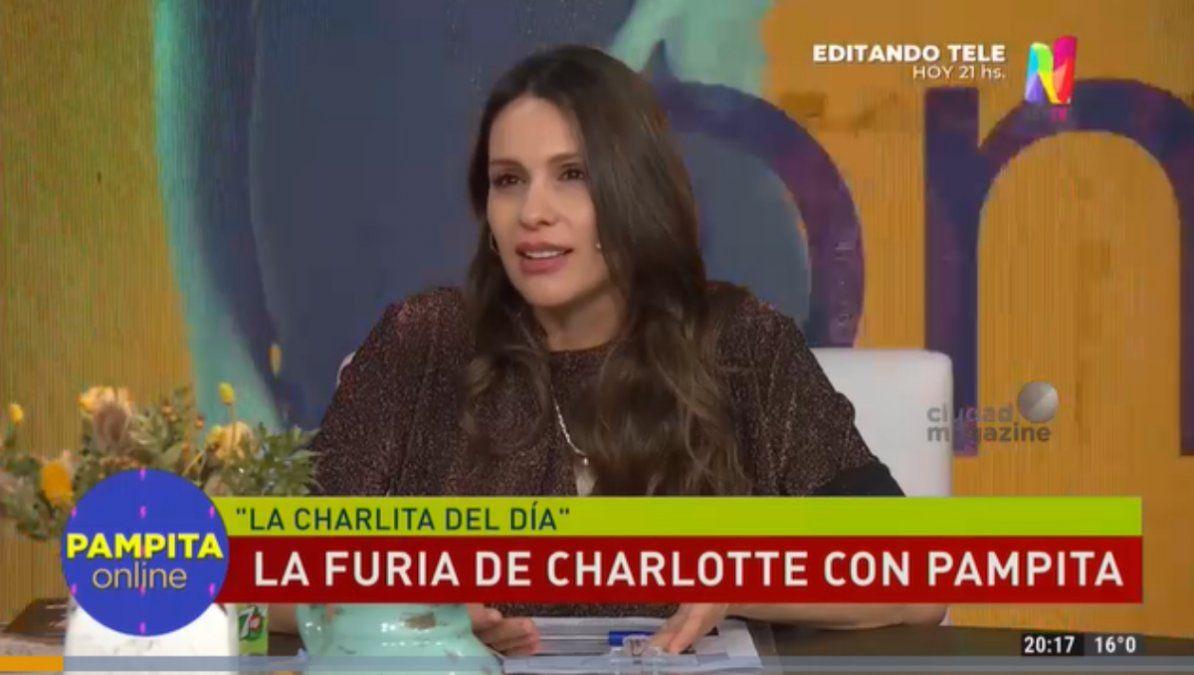 Pampita le respondió a Charlotte Caniggia