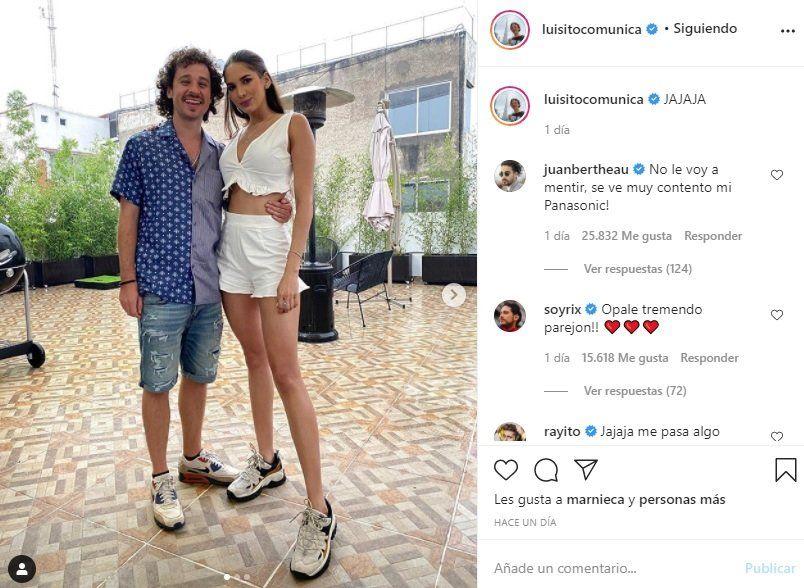 ¡Enamorado! Luisito Comunica tiene nueva novia