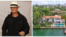 ¡Por fin! Alejandro Sanz vendió su mansión de Miami
