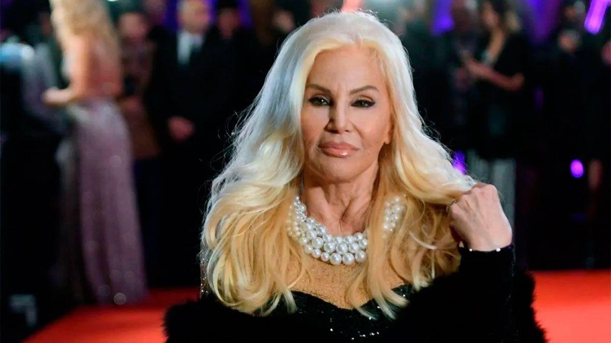 La actriz y presentadora Susana Giménez presentó baja saturación de oxigeno en sangre producto del Covid-19