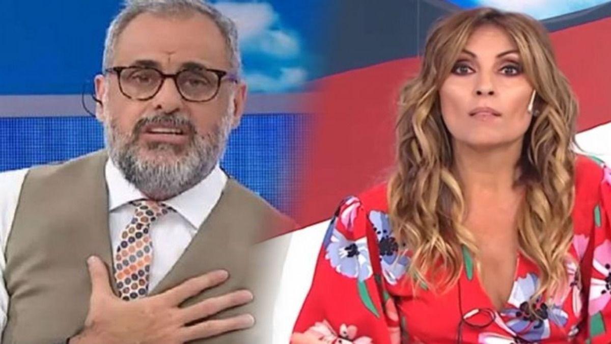 Marcela Tauro y Jorge Rial