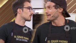 Nicolás y Julián en la final de El gran premio de la cocina