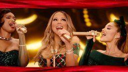 ¡Sabor a Navidad! Mariah Carey lanzó ¡Oh Santa! junto a Ariana Grande