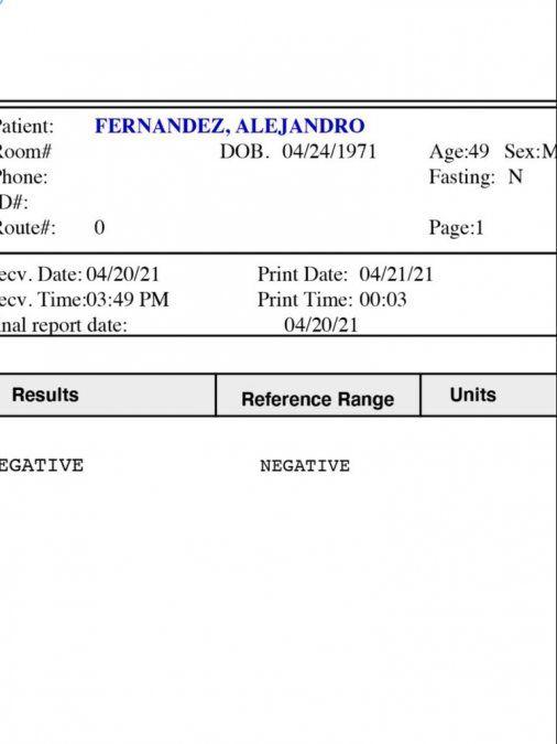 ¡Negativo! Alejandro Fernández ya no tiene COVID-19