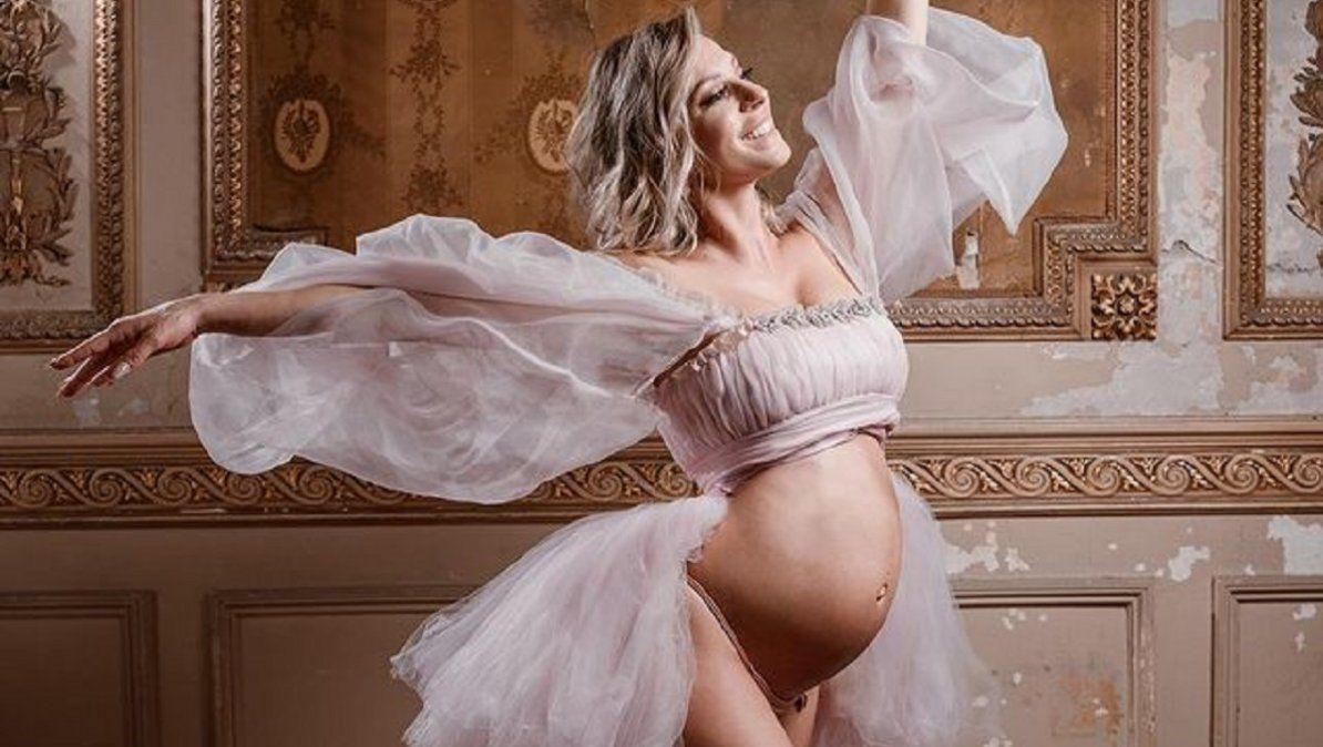 Así es el cuarto que Noelia Marzol le hizo a su bebé
