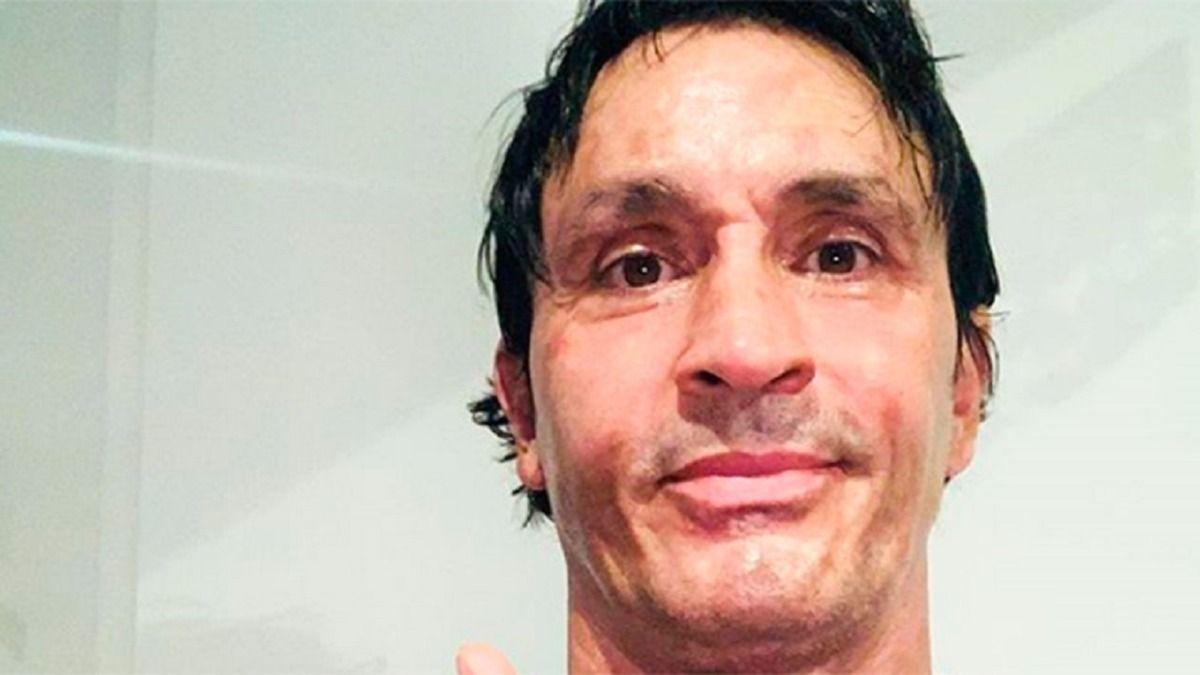 Sebastián Estevanez sufrió un accidente doméstico en el mes de agosto