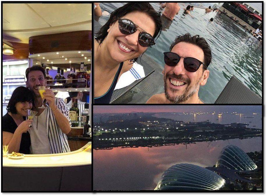 Vernaci y Tortonese ya están en Singapur para el programa de Marley