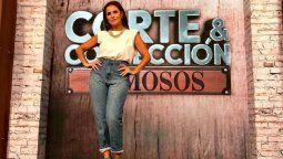 María Fernanda Callejón homenajeó a su madre en Corte y Confección