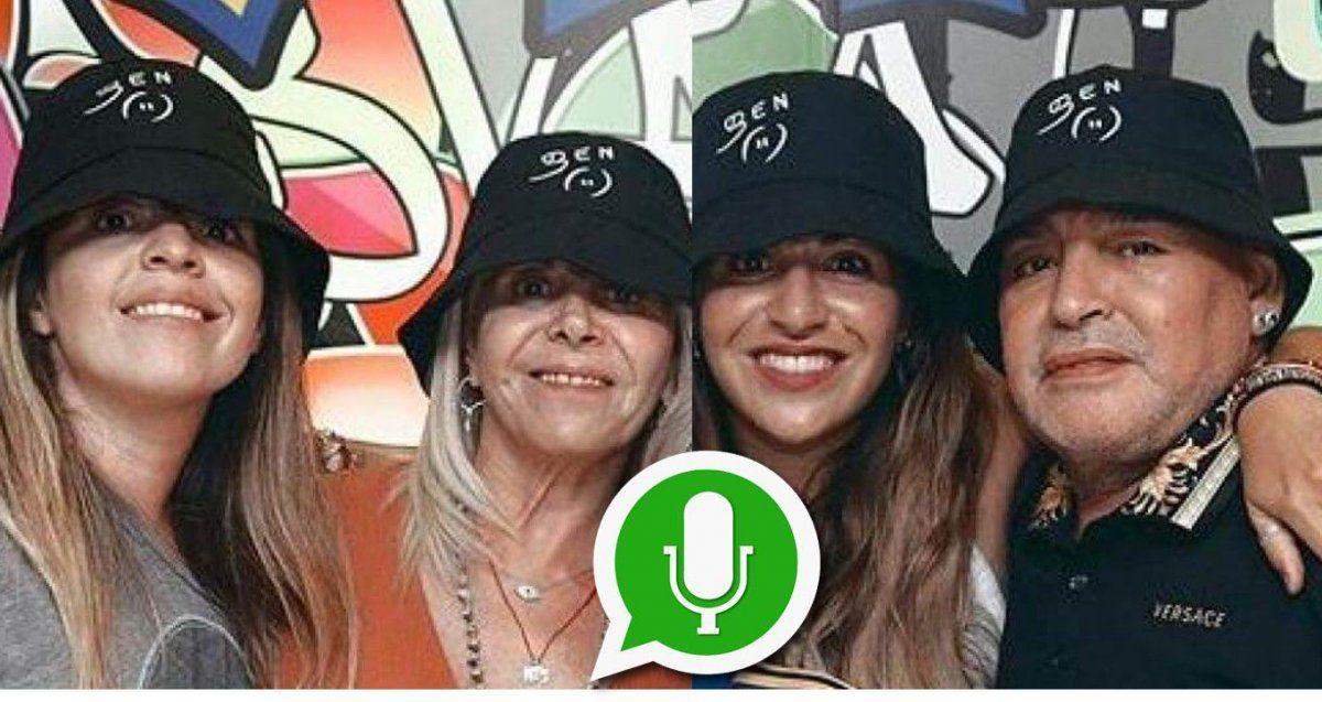 Dalma contó cómo fue su cumpleaños a la distancia con Diego y Claudia; y qué nombre tiene el grupo de WhatsApp familiar