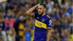 El jugador de Boca Eduardo Toto Salvio estará fuera de la cancha por rotura del ligamento cruzado