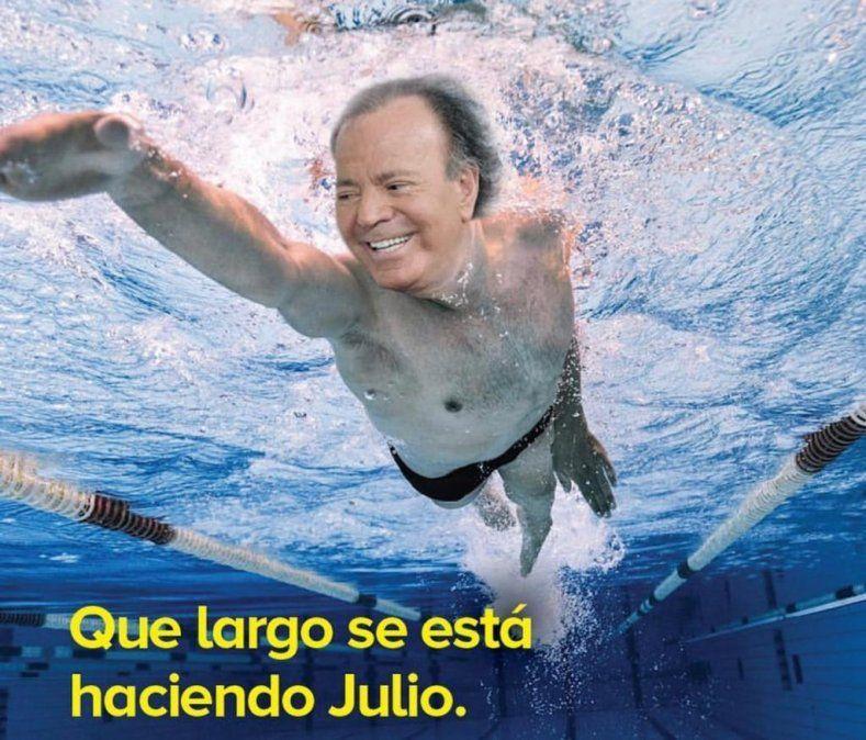 Julio Iglesias más que un meme; polémica en Chile; ultimos posteos en Instagram y cronistas mala onda