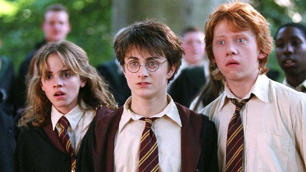 Rupert Grint en una de las escenas de Harry Potter y la piedra filosofal