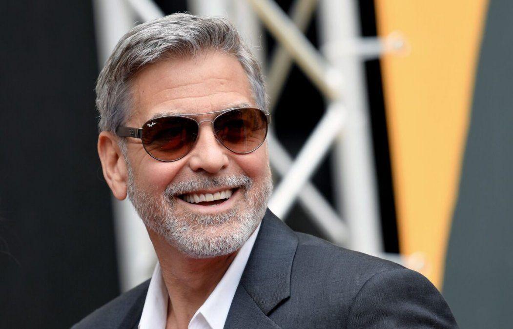 George Clooney le regala un millón de dólares a cada uno de sus amigos