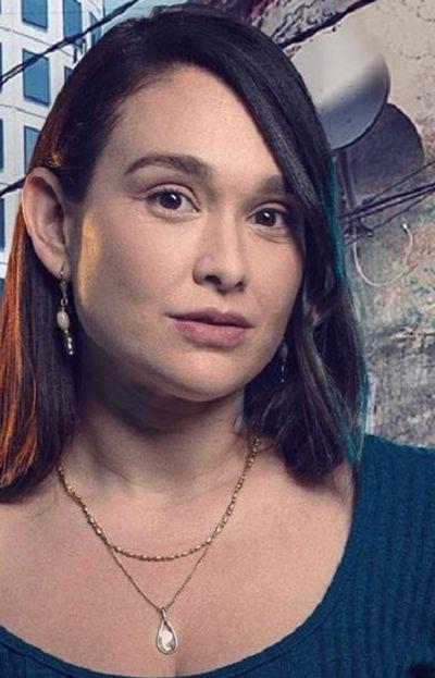 Lali González, actriz paraguaya que protagoniza La 1-5/18