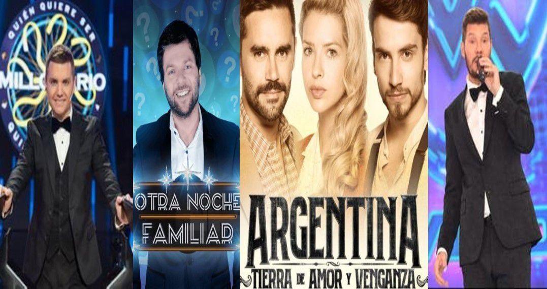 Los ratings del lunes 26 de agosto