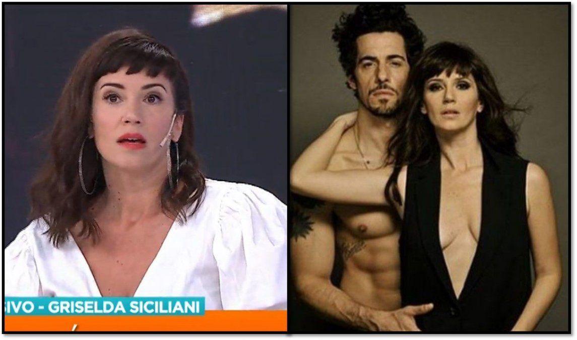 Griselda Siciliani: Grabar escenas con Lamothe se tornó incómodo