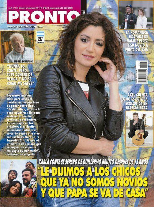 Carla Conte separada; Natalie Perez hot y Flor Peña a punto de parir en las tapas de la semana