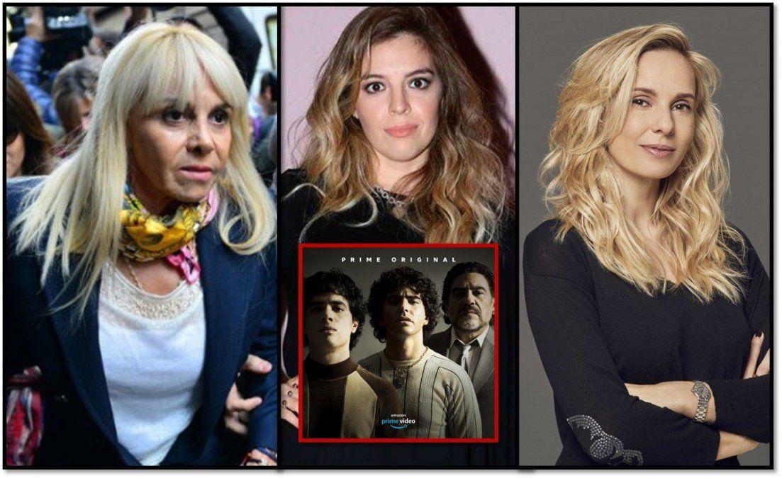 La interna sobre la serie de Maradona: Los tweets de Dalma y un llamado de Julieta Cardinali a Claudia