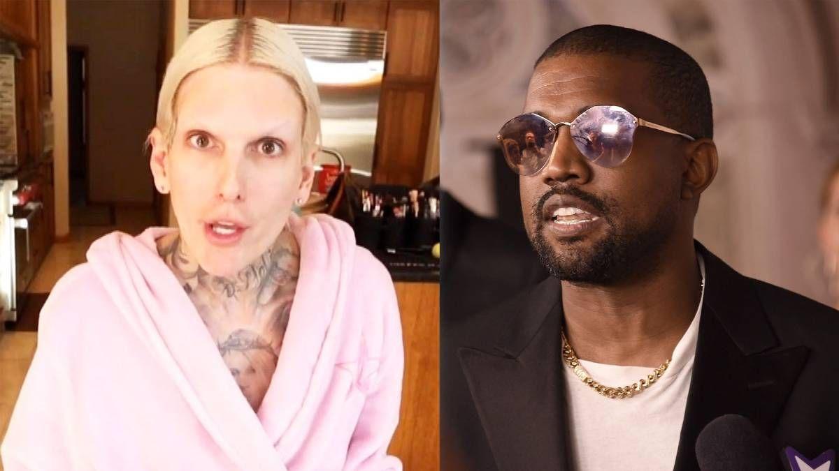 ¡Muy loco! Kanye West tendría algo con un maquillador