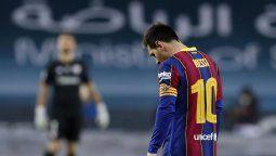 ¡Inédito! Lionel Messi y su expulsión en la Supercopa