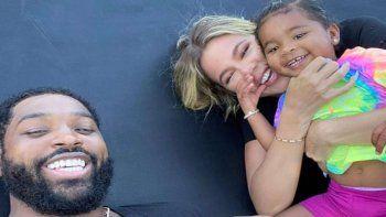 ¡Sorprendida! Khloé Katdashian y Tristan tienen éxito con la crianza compartida