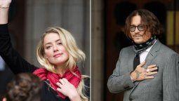 Amber Heard y Johnny Depp se separaron hace tres años
