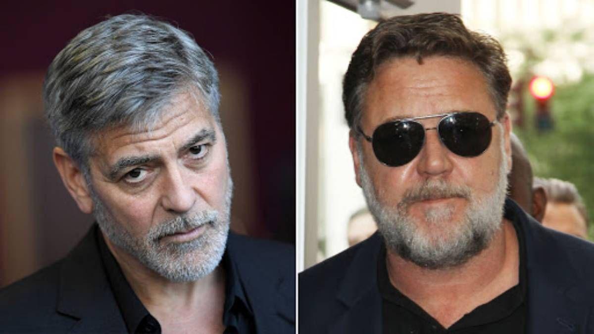 ¿Por qué se pelearon? George Clooney habla de su enemistad con Russell Crowe