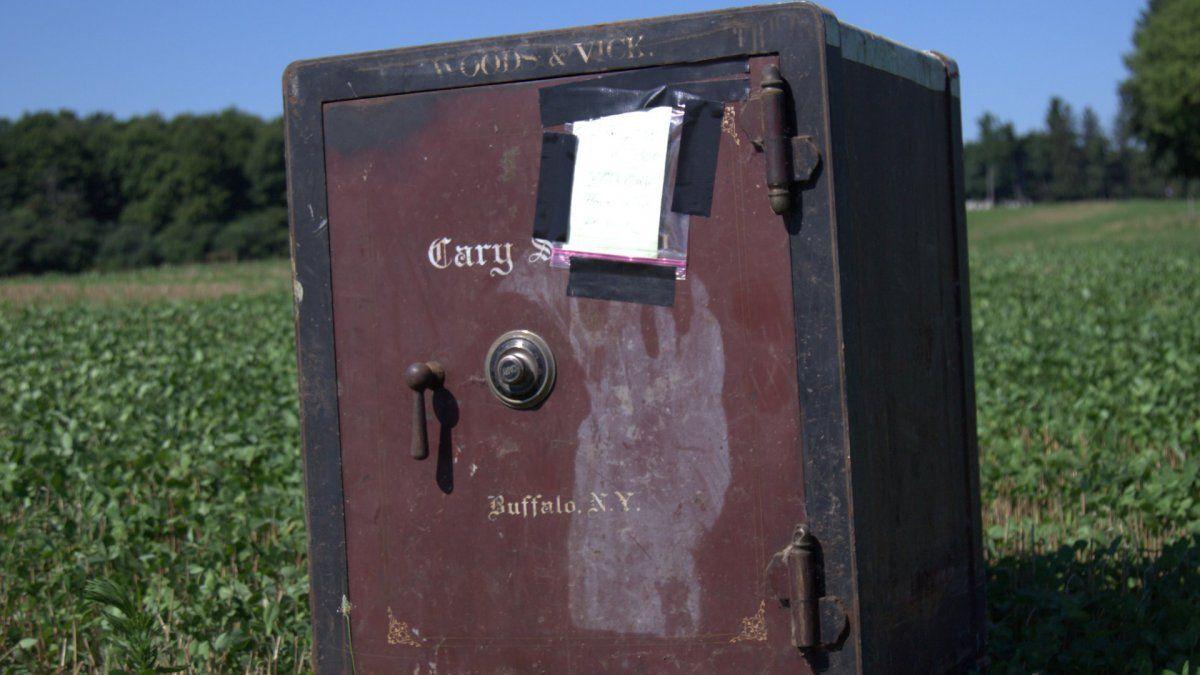 El misterio de la caja fuerte en Barre
