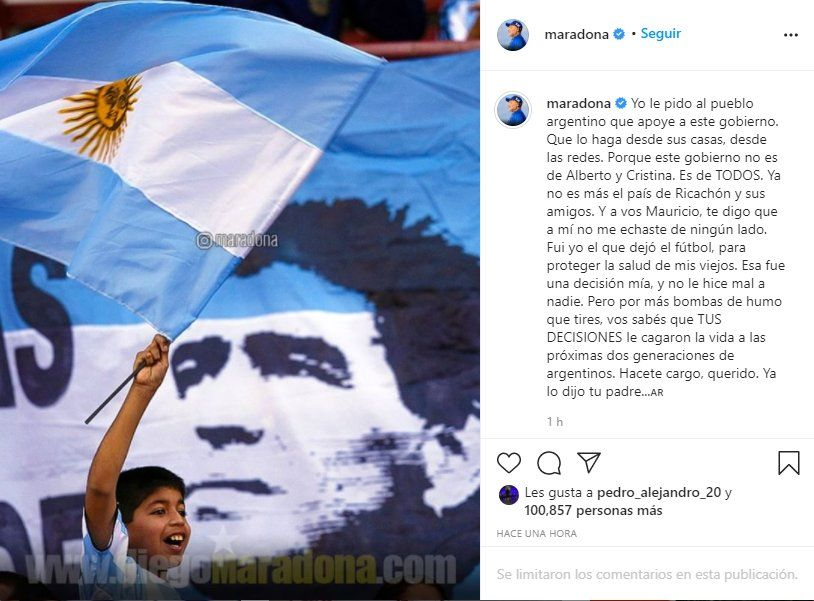Tras la declaraciones de Mauricio Macri