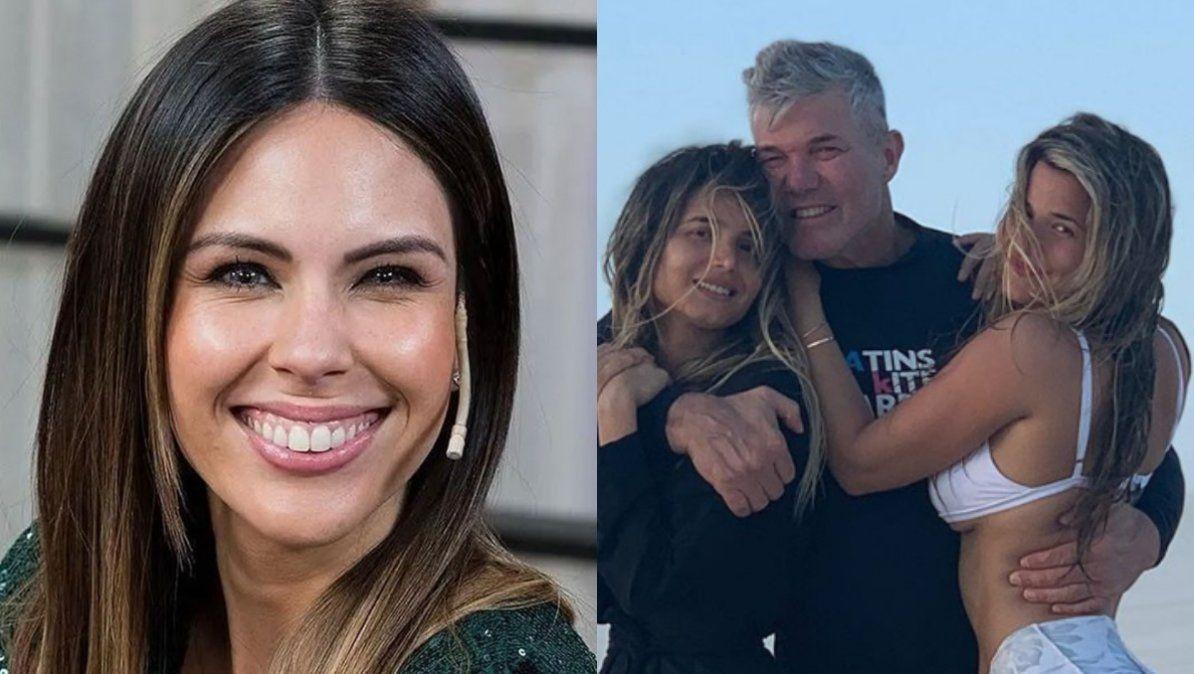 Barby Franco habló de su relación con las hijas de Fernando Burlando