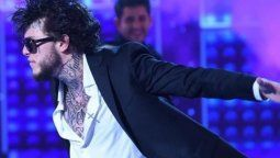Karina La Princesita impresionada por el debut de Alexander Caniggia en el Cantando