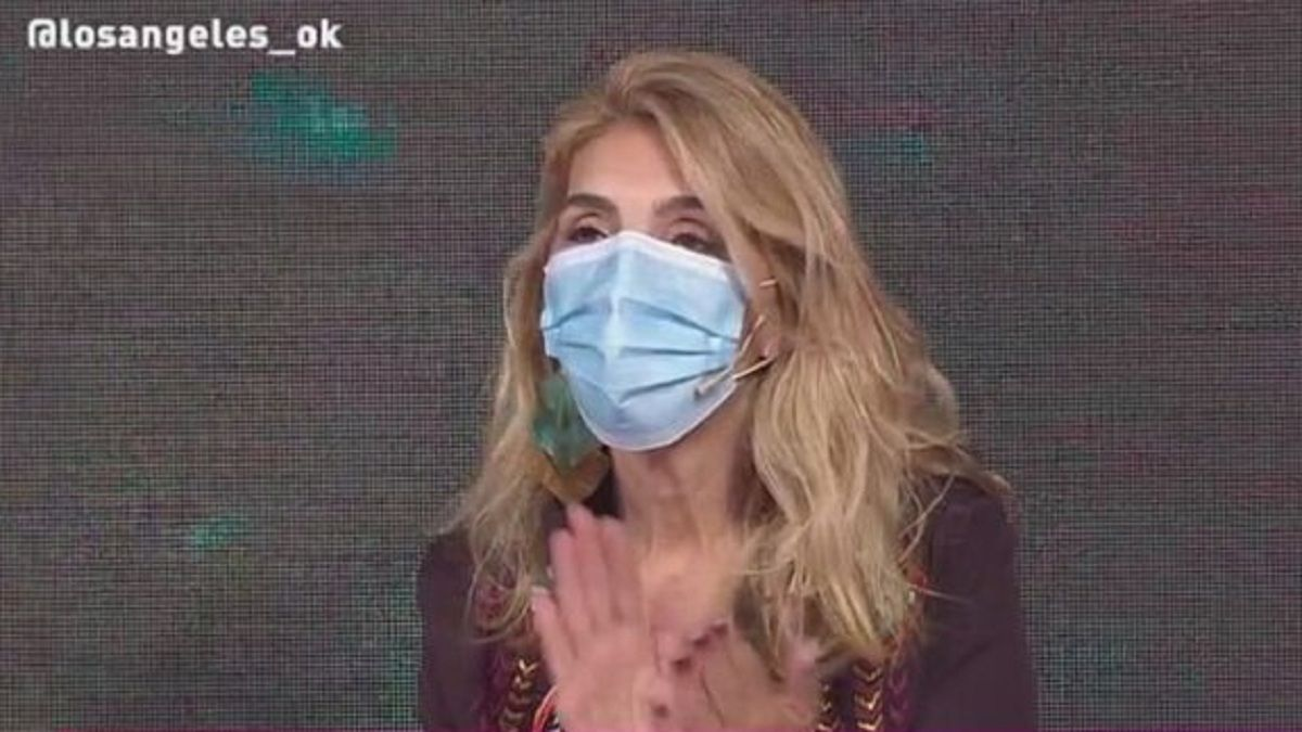 Karina Iavícoli fue echada de LAM por usar barbijo en cámara