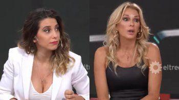 Feroz cruce de Yanina Latorre y Cinthia Fernández por el resultado de las PASO