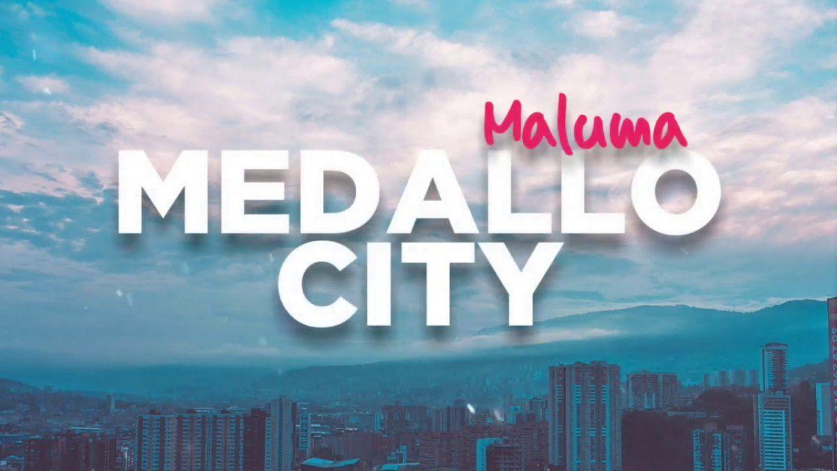 ¡Su regalo! Maluma le hizo una canción a Medellín