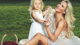 Luciana Salazar bebé y un parecido extremo a Matilda