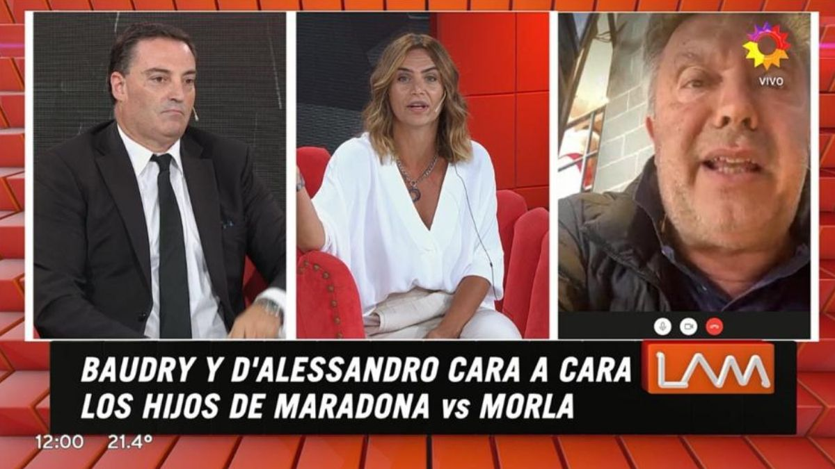 ¡Durísima! Amalia Granata incomodó al abogado de Matías Morla en vivo