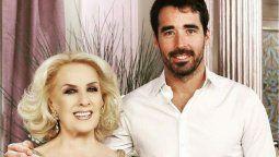 Nacho Viale habló sobre los bienes de su abuela, Mirtha Legrand