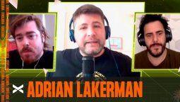 Adrián Lakerman creador del podcast comedia, fue columnista de Últimos Cartuchos