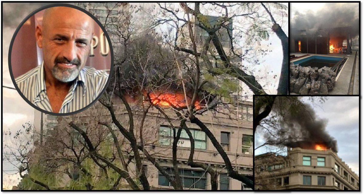 Luego del incendio ¿Cómo está Sofovich y qué habría provocado el siniestro?
